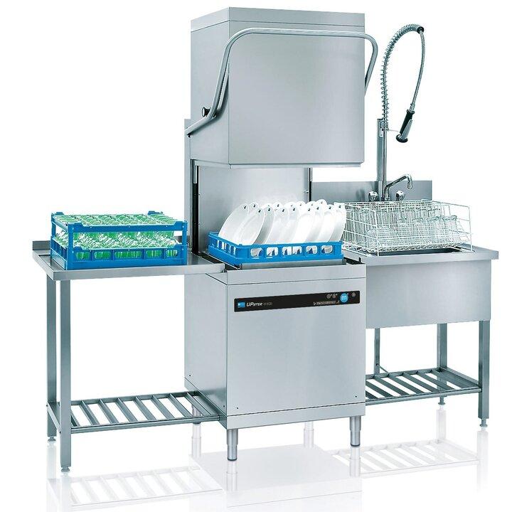 Professionelle spulmaschine upster h 500 glanzt mit hoher for Integrierte spülmaschine