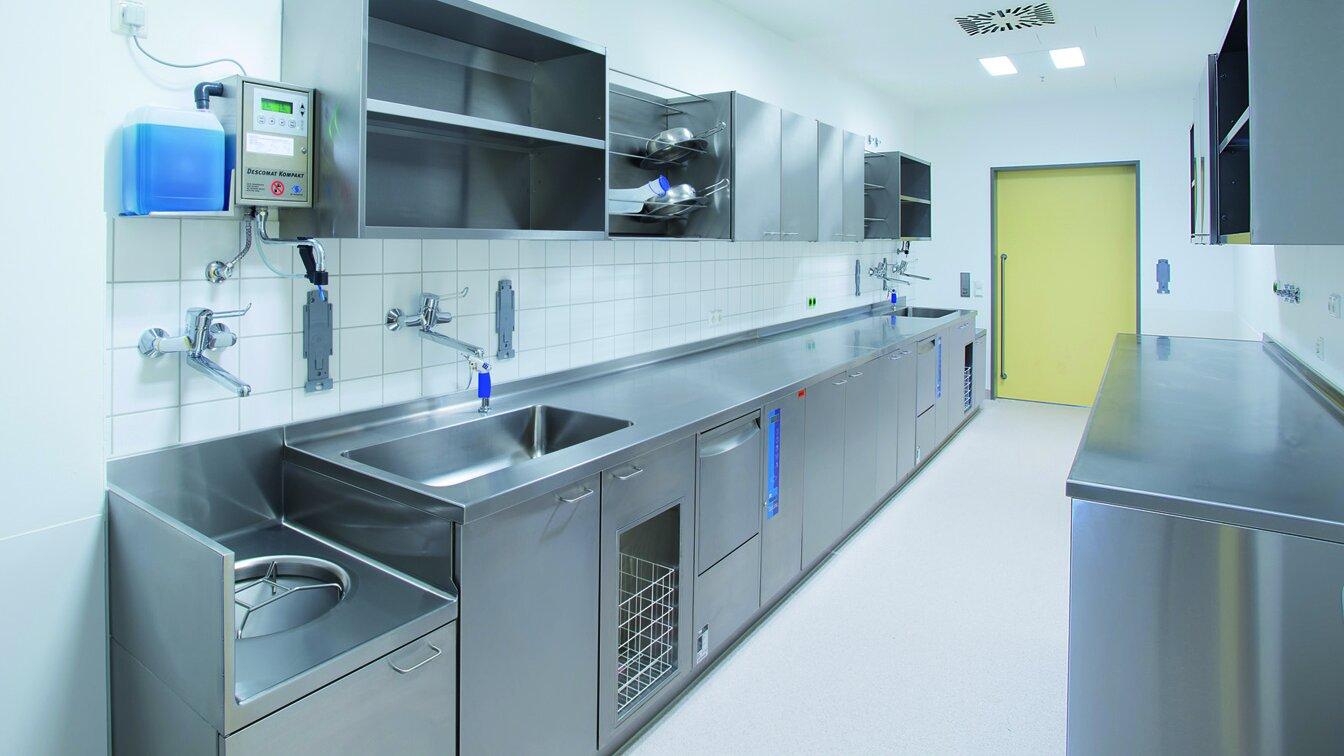 Reinigungs- und Desinfektionstechnologie in Kliniken - MEIKO